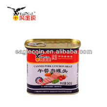 340G Eagle Coin Canned Pork Luncheon Meant Brands Bulk canned meat