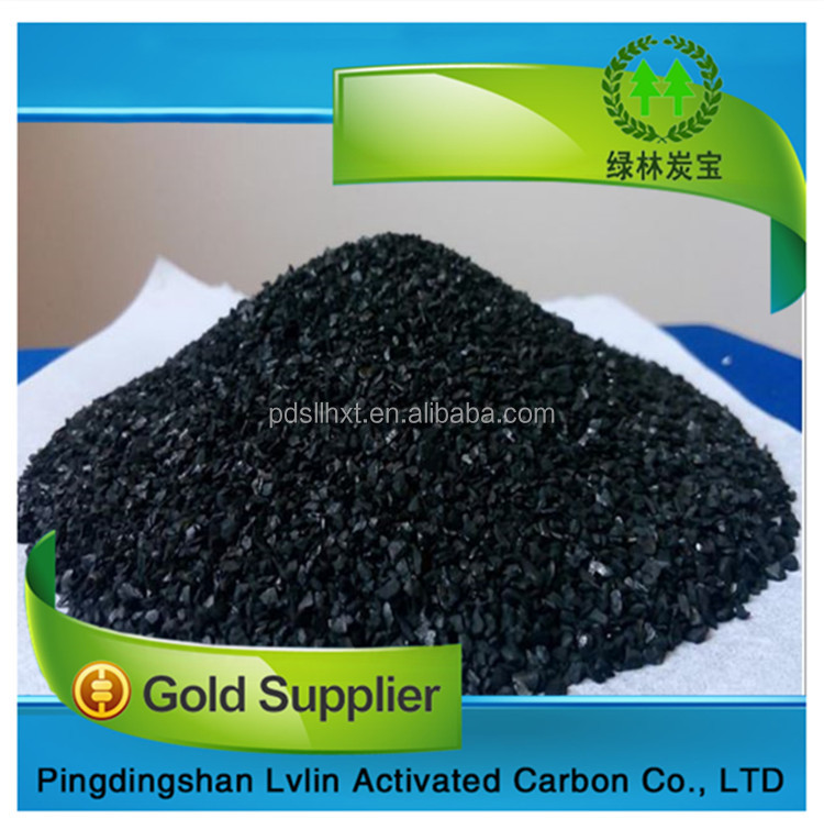 The high iodine value Bituminous coconut Based Granular Activated Carbon supplier price per Ton