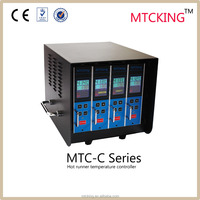 Colorful and easy hot runner temperature controller with MTC-C series