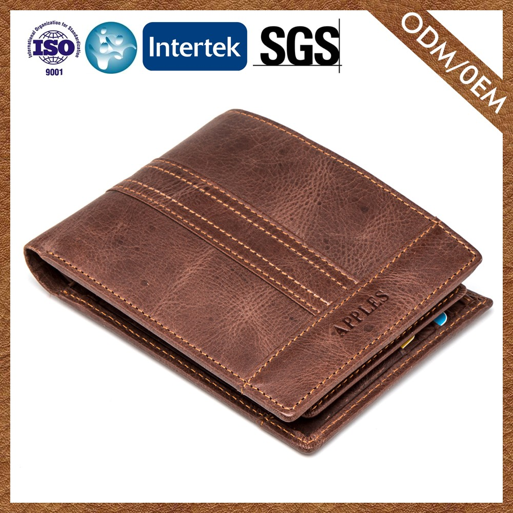 Wholesale Popular Customizable Latest Designs Leather Coin Purse For Men