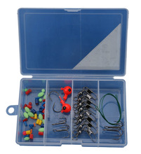 PALADIN OEM Fishing Jighea Tackle Kit / Set With Stoppers , Steelwire , Swivel , Snap , Treble Hooks