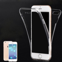 Oem welcome transparent full cover for iphone 5 s waterproof case,for iphone 7 360 case