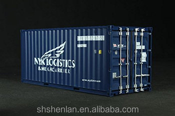 20 feet 1:20 shipping model container casting alloy model