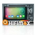Hifimax Android 7.1 Car Radio For Audi A4 (2002-2008) DVD GPS System For Audi A4 B8 Wifi Optional DAB OBD DVR Carplay Camera
