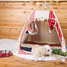 Cat Bed Functional Warm Pet Dog Cat Toy Tent