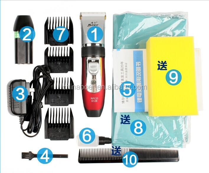 2017 NEW STYLE FASHION BARBER PROFESSIONL HAIR CLIPPER/HAIR TRIMMER