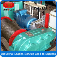 JM 5 ton electric lifting winch for coal mining condition