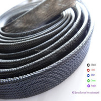 Colorful pet expandable braided sleeving for widely used