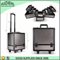 aluminum beauty trolley case