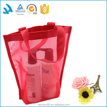 2015 new design supermarket fashion easy shopping bag with logo