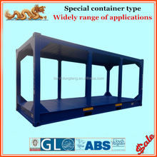 ISO standard 8ft 10ft 20ft container frame