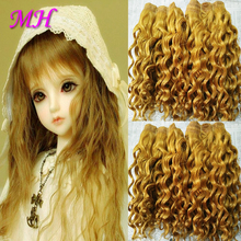 Hair for Doll Wig Diy Goat Hair Mohair Doll Wigs Material for Bjd Lolita Wig Making