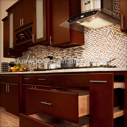HOT Solid Wood KITCHEN CABINETS Villa Cherry