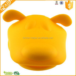 Factory Price Non Stick Dog Shape Silicone Oven Mitts