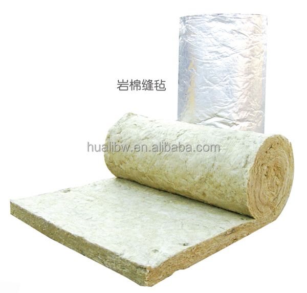 Mineral rock wool mesh blanket insulation buy rock wool for Mineral wool wall insulation