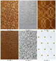 3D wood embossing wall sheet lowes cheap decorative wall paneling