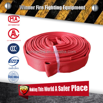 high pressure synthetic rubber lined fire hose