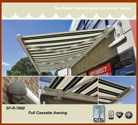 SF-R-7000 UK electric patio awnings