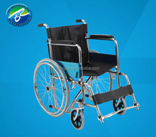 New style strong wheelchair with brake disabled patent wheelchair