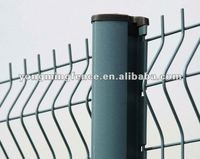 security PVC coated wall wire mesh fence