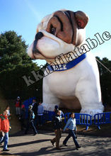 guangzhou promotional inflatable dog, large custom advertising inflatable animal/model