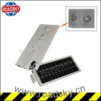Factory Price Durable Aluminum 20W Integrated Solar Street Light