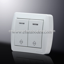 1 gang hotel wall switch/1 gang electric wall switch
