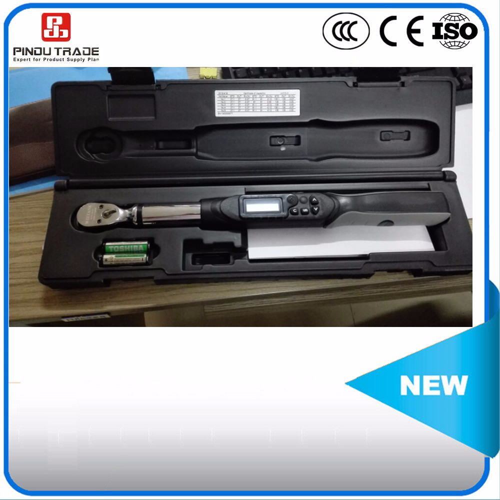precision electric battery digital torque wrench