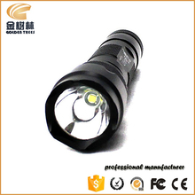 502B 1000lm led flashlight, long distance police torch light, led hand charge torch light