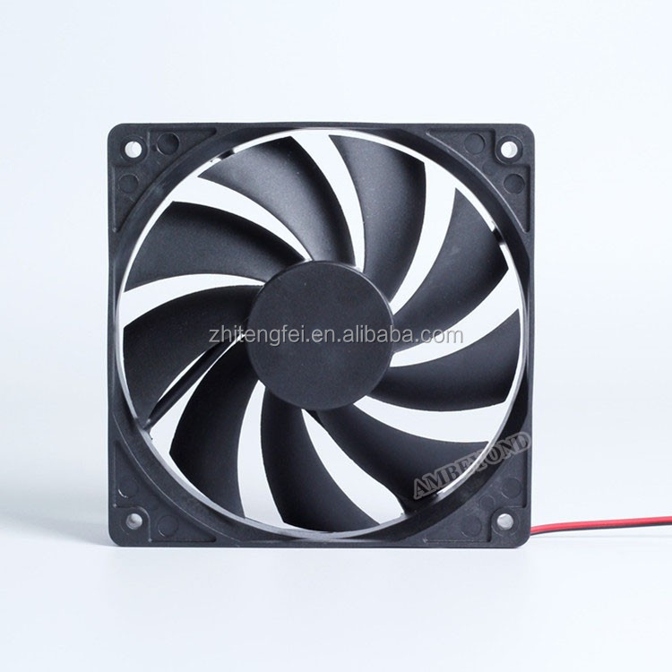 overcurrent protect 2pin 3pin 4pin 9 blades 120x120x25 12v PC fan 120mm