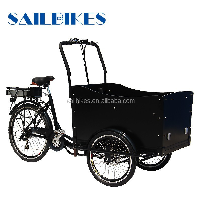 tricycle cargo bike cargo bike electric with pedal assist