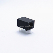 1.0mm 1.3mm 3 pin female dc power jack connector