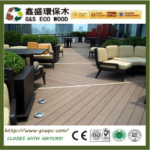 wood plastic composite decking wpc Building materials outdoor wpc decking fireproof wpc decking hot selling