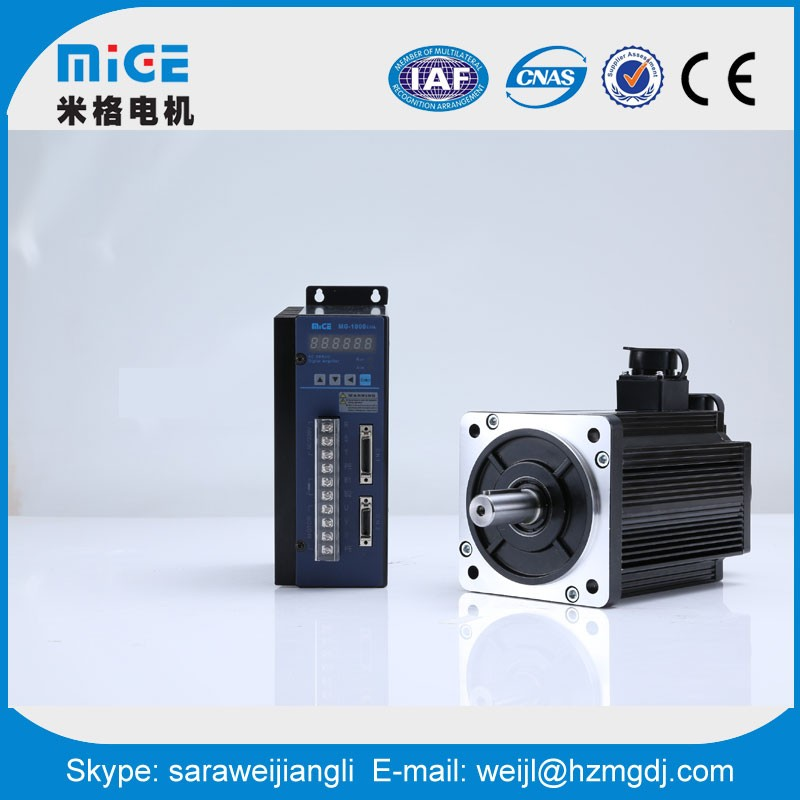 China motor manufacturer 1000W brushless Induction AC servo motor