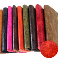 textured faux pvc embossing pu rexine shoe synthetic artificial woven rexine leather fabric wholesale roll for bag handbag