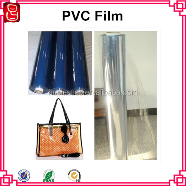 Soft Super Clear PVC Film PVC Transparent film For Packing Bag