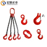 factory prices lifting sling hoist hooks with chains