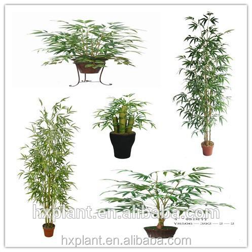 2014 faux bambou feuilles des plantes arbre pot gros pas for Bambou plastique pas cher