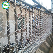 Professional HDPE High Strength Fire Resistant Balcony Stair Railing Scaffold Safety Net
