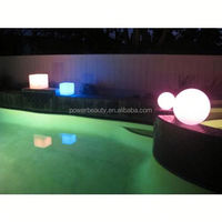 DXAB-056 New year LED rope lights atrium decor big hang string ball