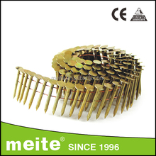 meite 15 degree Pneumatic Nail, Galvanized Pallet Roofing Coil Nail, pallet nail for gun