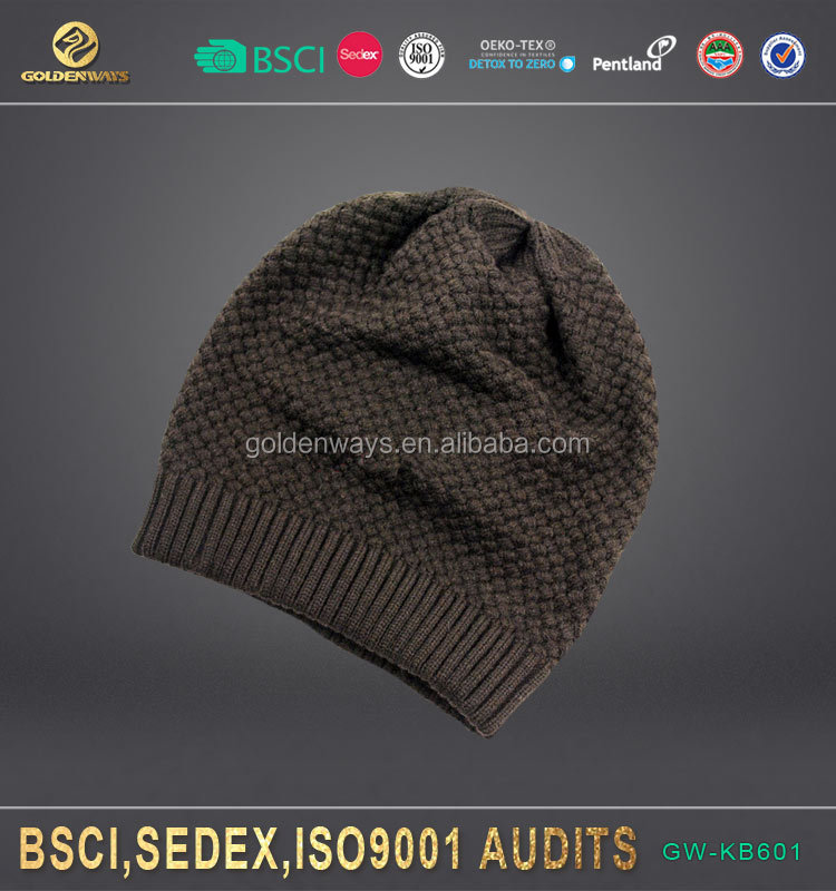 new design boys winter knit hat customized color for wholesale