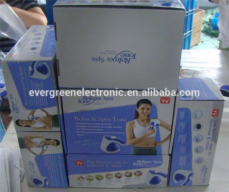hot sale massager vibrator relax tone tone massager as seen on TV EG-MA02
