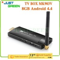 low price MK903V Android 4.4 TV Box 2GB 8GB Rockchip 3288 WIFI smart TV box
