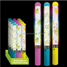 Flashing Multi-color battery operated foam glow sticks 12.5 inch Wand in Easter Design light up Easter light stick