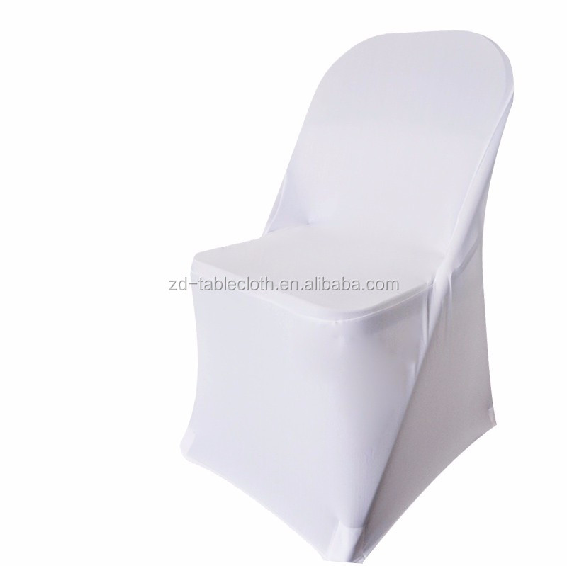 wholesale office banquet white spandex folding chair cover