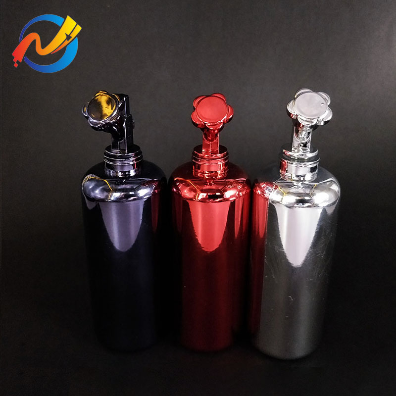 60ml electroplated nitrogen gas electronic nos bottle for e cigarette liquid