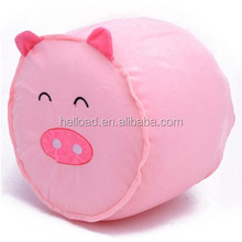 pig shaped Inflatable pink plasticchair for adult for kids