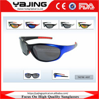 PC Frame Rubber Temples Sports Eyewear