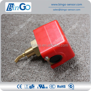 paddle type air conditioner flow switch